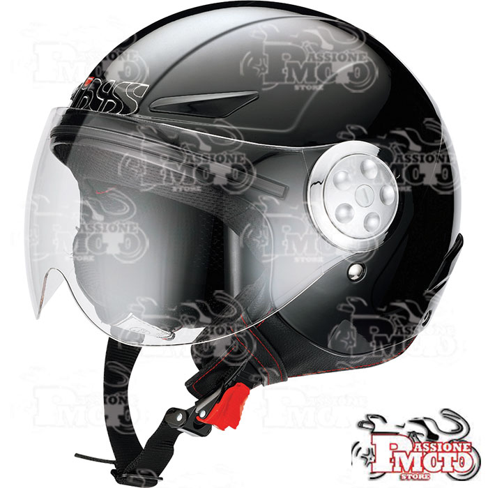 Casco Jet IXS HX 109 Kid Black