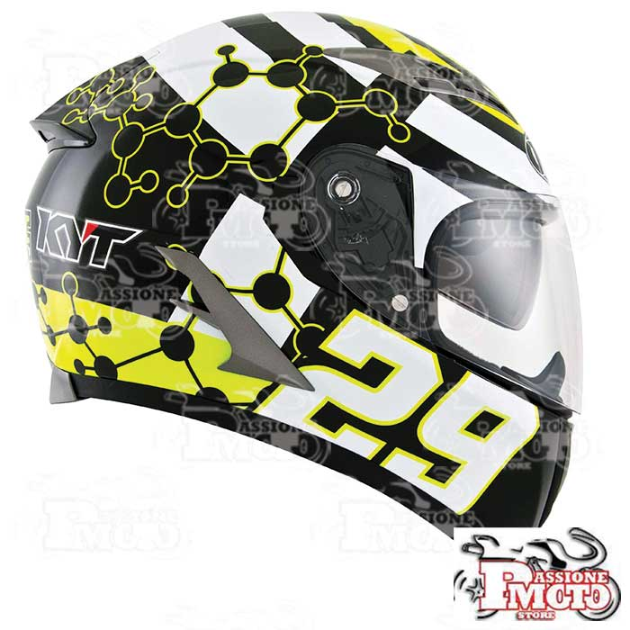 Casco Kyt Falcon Iannone Replica