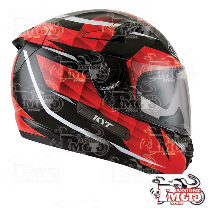 Casco Kyt Venom Diamond Black/Red